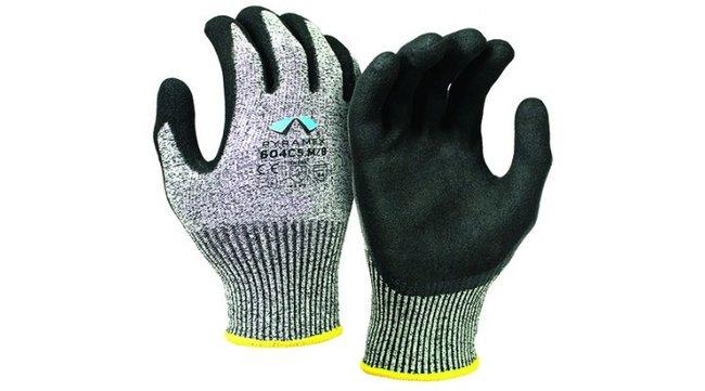 Pyramex Safety Products CorXcel Sandy Nitrile Gloves::