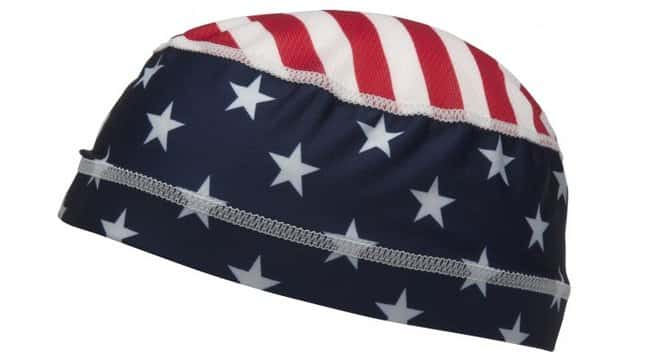 Pyramex Safety Products Skull Cap Liner American flag:Gloves, Glasses and