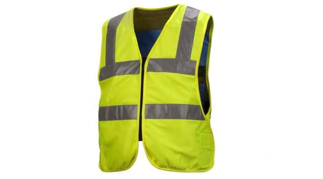 Pyramex Safety Products Hi-Vis Adjustable Vest:Gloves, Glasses and Safety:Personal