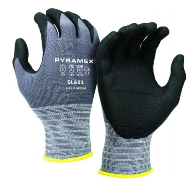 Pyramex Safety ProductsMicroFoam Nitrile-Coated Nylon Lycra Gloves:Personal