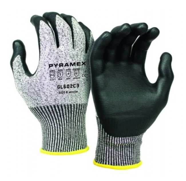 Pyramex Safety ProductsMicroFoam Nitrile-Coated HPPE Cut-Resistant Gloves