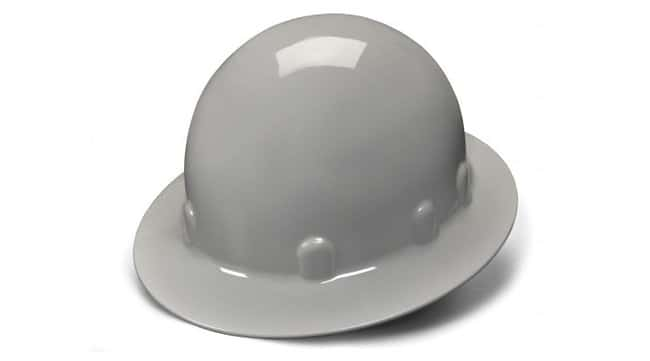 Pyramex Safety Products SL Series Sleek Shell Hard Hat Full brim; Gray:Gloves,