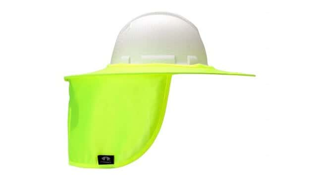 Pyramex Safety Products Collapsible Hard Hat Shade Yellow:Gloves, Glasses