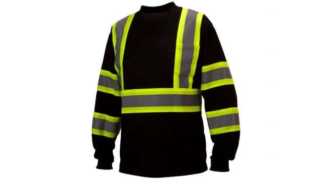 Pyramex Safety Products Moisture Wicking Long Sleeve T-Shirt Black; 2X-Large:Gloves,