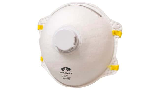 Disposable N95 Cone Respirator Mask With valve; 10/box, 12 boxes/case:Gloves,