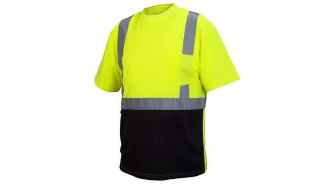 Pyramex Pyramex Hi-Vis T-Shirts Hi-Vis Lime, 2X-Large:Gloves, Glasses and