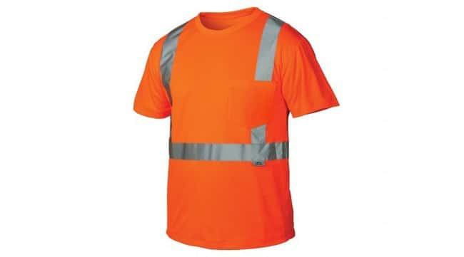 Pyramex Hi-Vis T-Shirts with Reflective Stripes:Gloves, Glasses and Safety:Personal