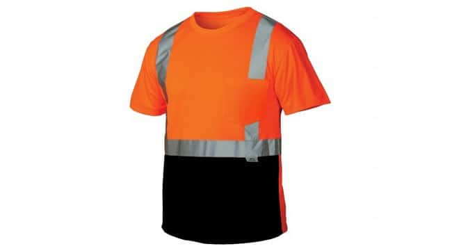 Pyramex Pyramex Hi-Vis T-Shirts Hi-Vis Orange, Large:Gloves, Glasses and