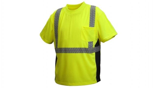 Pyramex Pyramex Broken Heat Sealed Tape T-Shirts Large:Gloves, Glasses