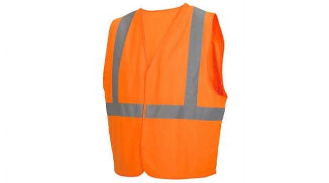 Pyramex Hi-Vis Reflective Safety Vests Hi-Vis Orange, Large:Gloves, Glasses