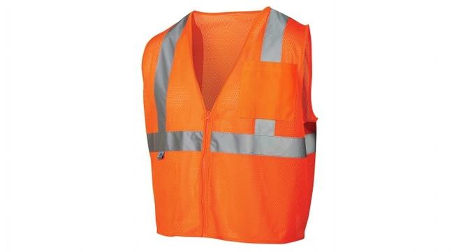 Pyramex RVZ21SE Series - Self Extinguishing Safety Vest 2X-Large:Gloves,