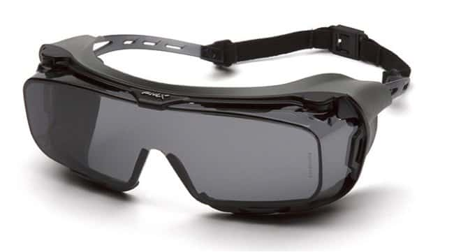 Pyramex Cappture Safety Eyewear Grey, Rubber Gasket:Gloves, Glasses and