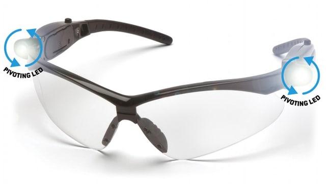 Pyramex PMXTREME LED Safety Eyewear:Gloves, Glasses and Safety:Glasses,