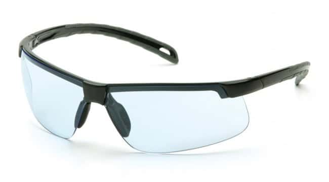 Pyramex Ever-Lite H2MAX Anti-Fog Safety Glasses Blue:Gloves, Glasses and