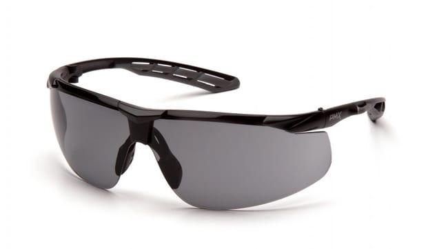 Pyramex Flex-Lyte Safety Glasses with H2MAX Lens Black/Gray, Gray/H2MAX