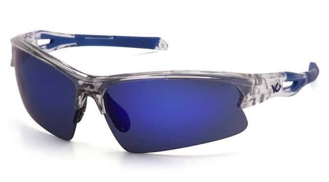 Pyramex Venture Gear - Monteagle Safety Glasses Clear, Light Blue:Gloves,