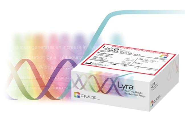 QuidelLyra Direct SARS-CoV-2 Molecular Assay:Diagnostic Tests and Controls:Flu