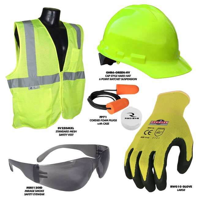 RadiansDeluxe HV Starter Kit:Personal Protective Equipment:Personal Protective