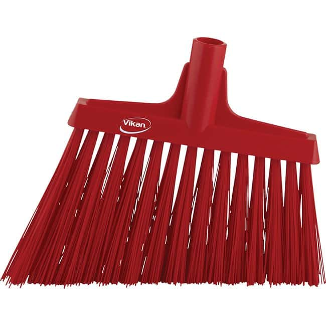 Remco Vikan Angle-Cut Broom Red; 12 in. L:Gloves, Glasses and Safety