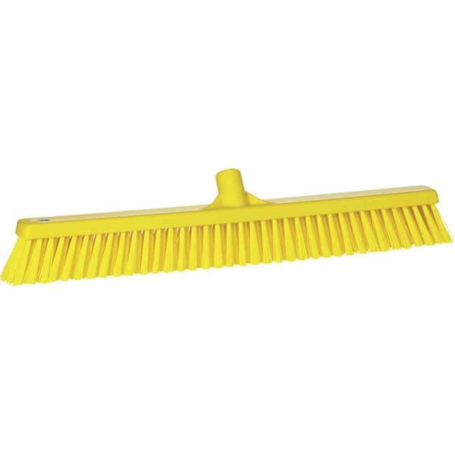 Remco Vikan Floor Brooms with Soft and Stiff Bristles:Gloves, Glasses and
