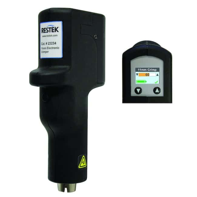 RestekElectronic Rechargeable Crimpers and Decappers with OLED Display