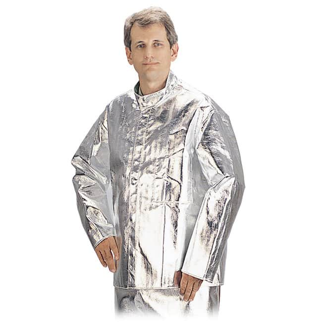 Black Stallion™ 19 oz. Aluminized Carbon/Aramid Fiber High Temp. Jacket