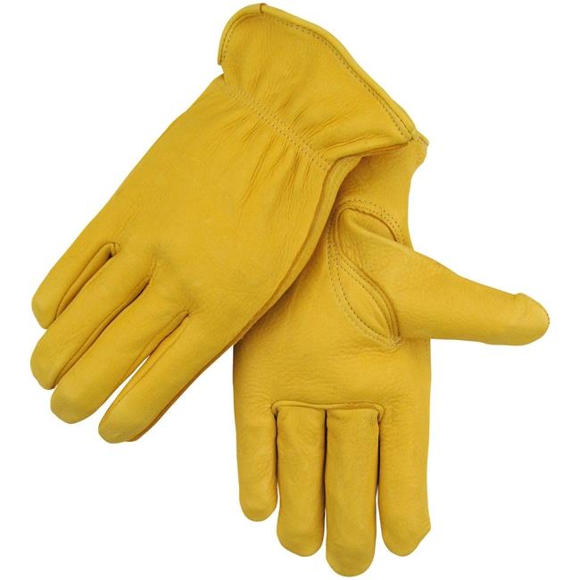 Black Stallion Quality Grain Deerskin Driving Gloves Size: Extra large:Gloves,