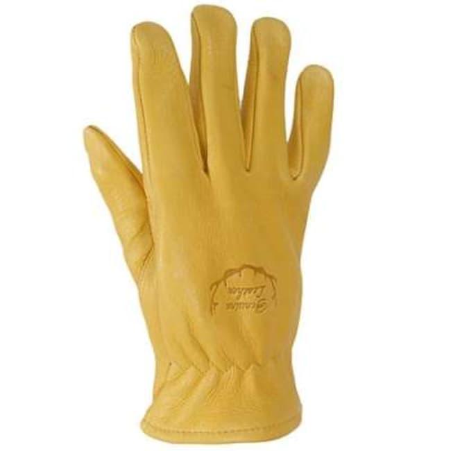 Black Stallion Premium Grain Elkskin Driving Gloves Size: Small:Gloves,