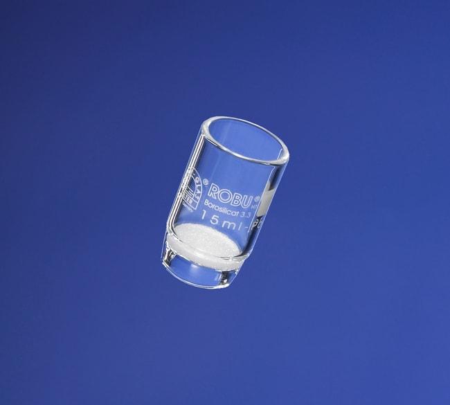 ROBU VitraPOR™Filter Crucible, 15 mL Tamaño de poro: 5 ROBU VitraPOR™Filter Crucible, 15 mL