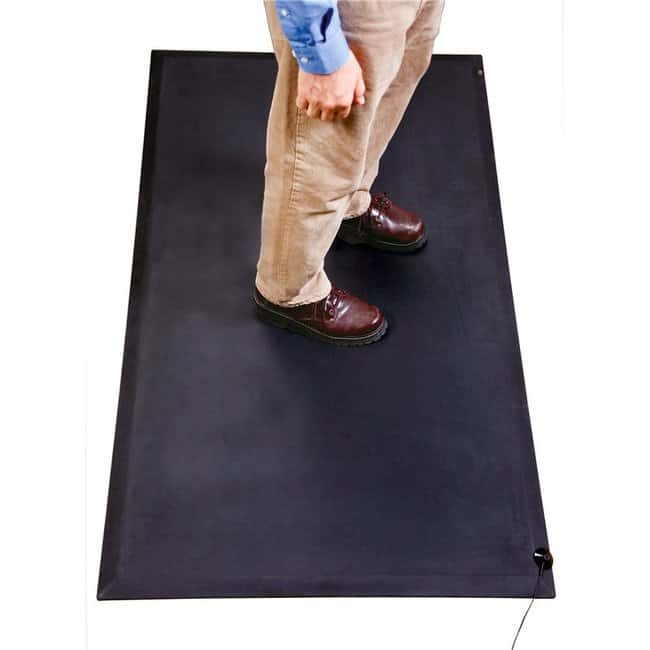 SCSAnti-Fatigue Rubber Mat 3 x 5 ft:Facility Safety and Maintenance