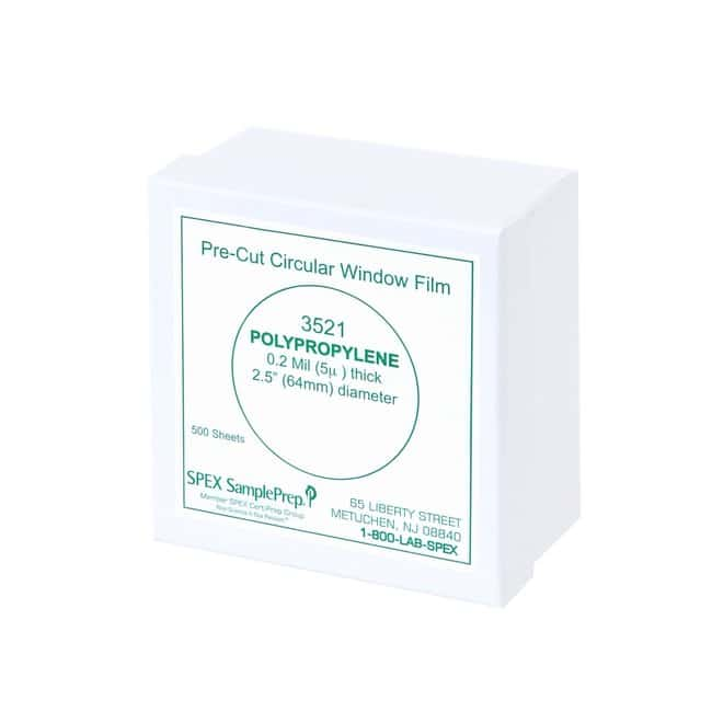 SPEX™ SamplePrepDisposable XRF X-Cell™ Sample Cups Window Film