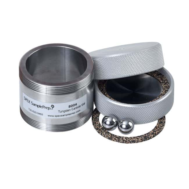 SPEX™ SamplePrep8000 Series Mixer/Mill™ Accessories Vial sets; Tungsten Carbide; 57.2 x 63.5 mm SPEX™ SamplePrep8000 Series Mixer/Mill™ Accessories