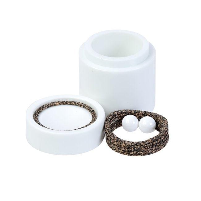 SPEX™ SamplePrep8000 Series Mixer/Mill™ Accessories Vial sets; Zirconia vial set; 63.5 x 68.3 mm SPEX™ SamplePrep8000 Series Mixer/Mill™ Accessories