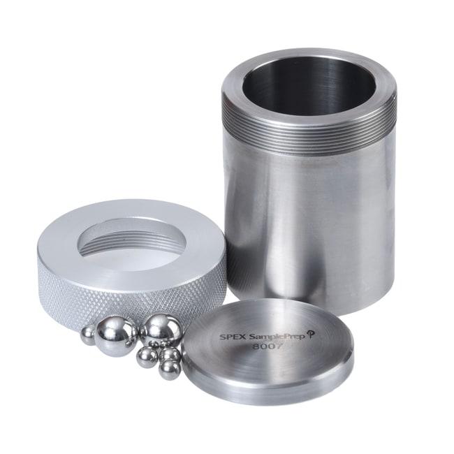 SPEX™ SamplePrepAccesorios Mixer/Mill™ Serie 8000 Juego de viales; juego de viales de acero inoxidable; 57,2×76,2 mm Ver productos