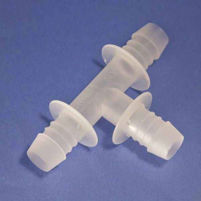 Saint-Gobain Pure-Fit SIB Tee Series ID: 3/16 in.; PVDF:Pumps and Tubing