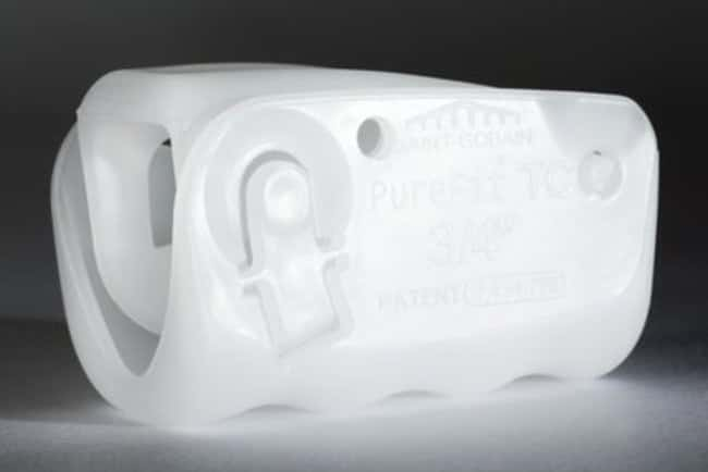 Saint-Gobain Pure-Fit TC Tube Clamps, Polypropylene Assembled; Fits tubing: