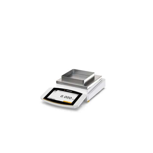 SartoriusCubis™ II Precision (3-Platz) Waage, MCA-Benutzeroberfläche MCA user interface; Capacity: 620 g; Draft shield R: Stainless steel frame SartoriusCubis™ II Precision (3-Platz) Waage, MCA-Benutzeroberfläche