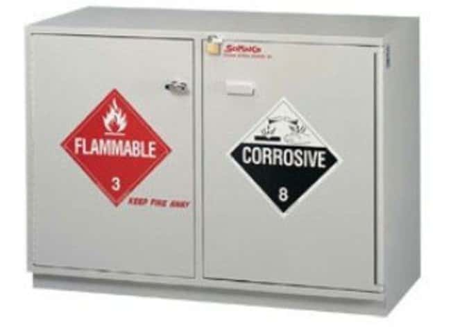 SciMatCo Under-The-Counter Paritally Lined Combination Acid/Flammables