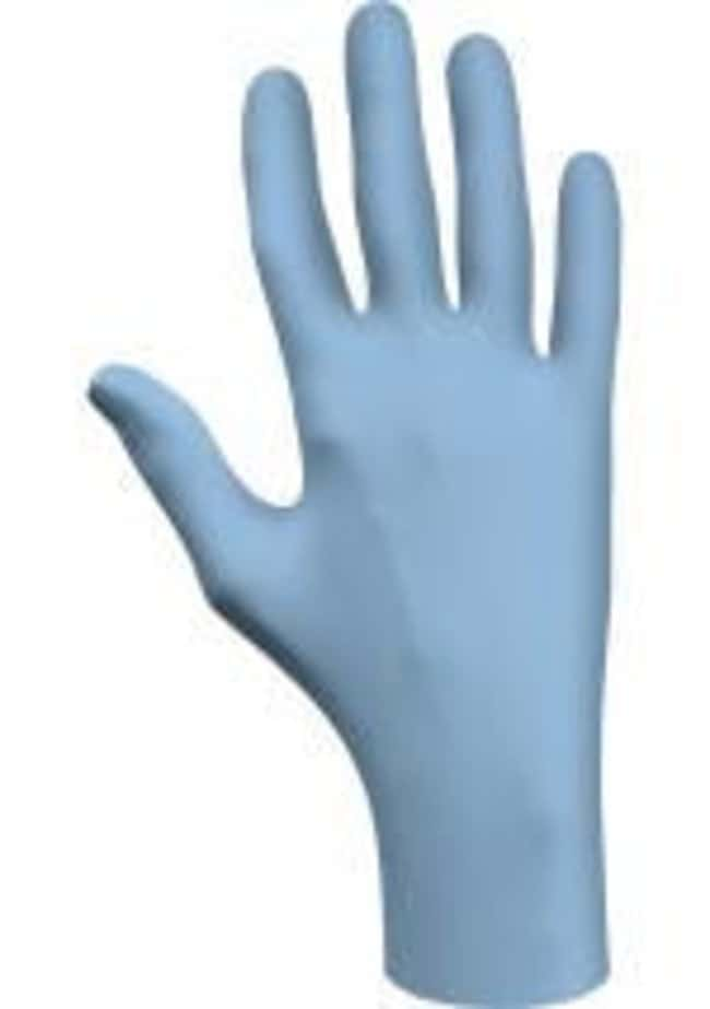 SHOWA 7502PF Biodegradable Nitrile Single Use Glove Size: Large