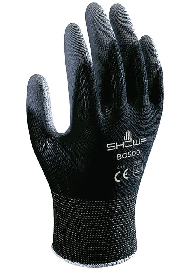 SHOWAPolyurethane-Coated Seamless Knit Nylon Gloves - Black:Personal Protective
