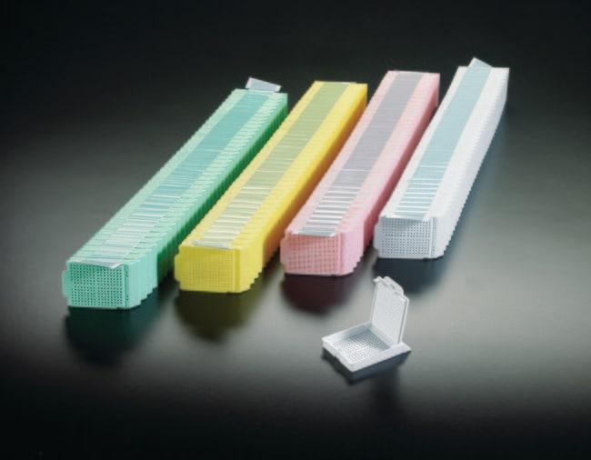 Simport™ ScientificHistosette™ II Biopsie-Verarbeitungs-/Einbettkassette in Quickload™-Spenderboxen Gelb Simport™ ScientificHistosette™ II Biopsie-Verarbeitungs-/Einbettkassette in Quickload™-Spenderboxen