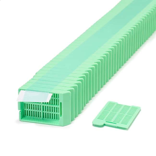 Simport™ Scientific Swingsette™ Tissue Processing/Embedding Cassette in Quickload™ stacks Green Simport™ Scientific Swingsette™ Tissue Processing/Embedding Cassette in Quickload™ stacks