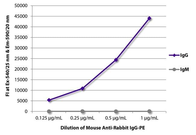 IgG Mouse anti-Rabbit, R-PE, Clone: 2A9, Southern Biotech R-phycoerythrin,