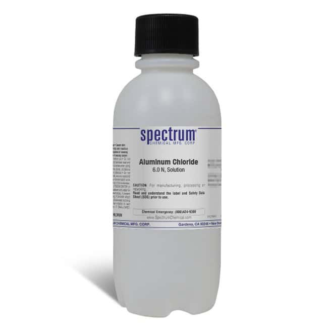 Aluminum Chloride, 6.0 N, For Sulfide, APHA, Solution, Spectrum