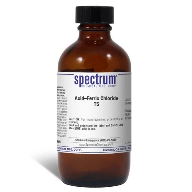 Acid-Ferric Chloride TS, U.S.P. Test Solution, Spectrum Quantity: 100 mL;