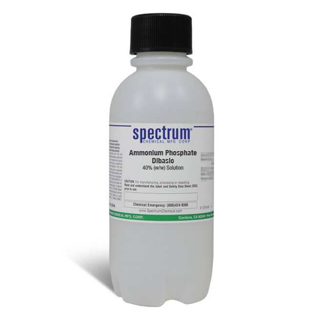 Ammonium Phosphate Dibasic, 40% (w/w) Solution, For Sulfide, APHA, Spectrum