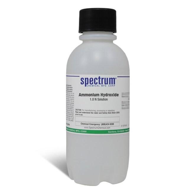 Ammonium Hydroxide, 1.0 N Solution, Spectrum