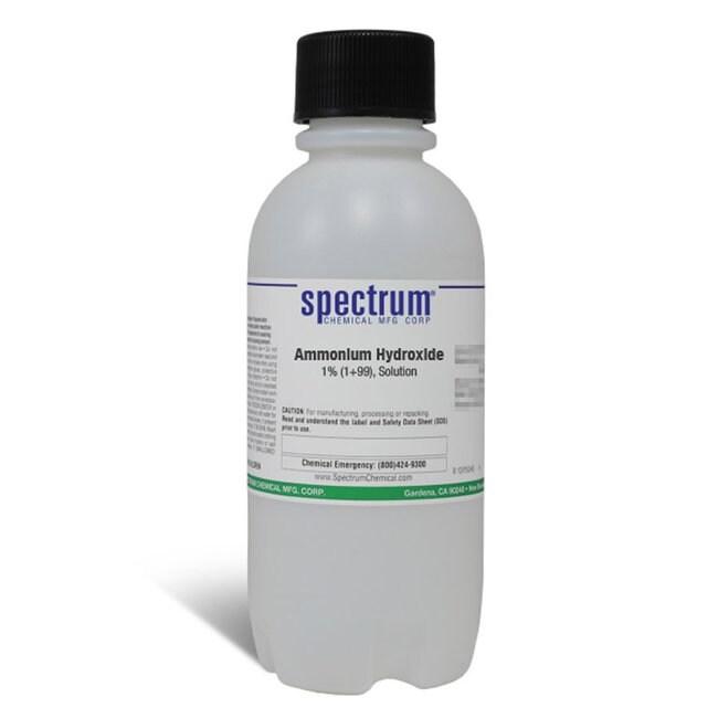 Ammonium Hydroxide, 1% (1 99), Solution, Spectrum
