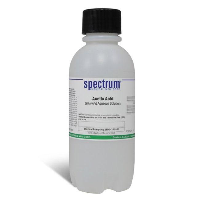 Acetic Acid, 5% (w/v) Aqueous Solution, Spectrum