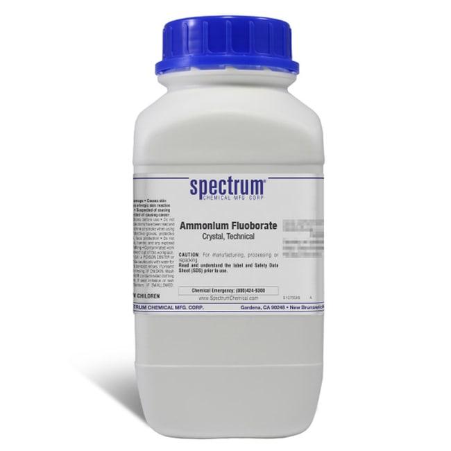 Ammonium Fluoborate, Crystal, Technical, Spectrum